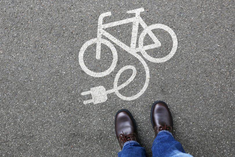 Bici elettrica a pedalata assistita